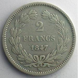 1847 A  (Paris)    TB+/TTB