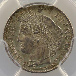 1850 A  (Paris)    PCGS-MS65    FDC