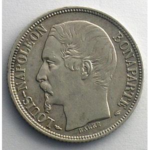 1852 A  (Paris)    TTB+   légèrement nettoyée