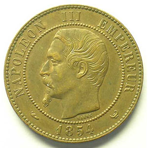 1854  bronze    TTB/TTB+