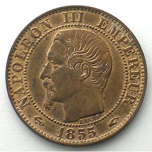 1855 A  ancre  (Paris)    SUP