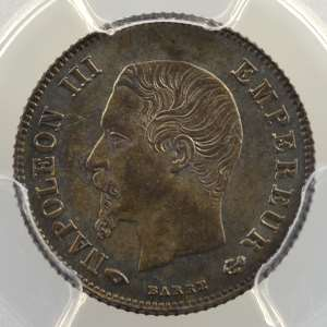 1860 A  (Paris)    PCGS-MS64+    pr.FDC
