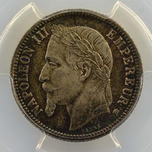 1869 BB (Strasbourg)    PCGS-MS66    FDC