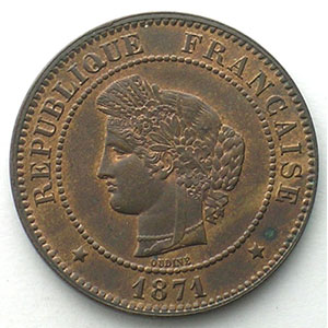 1871 A  (Paris)    SUP/FDC