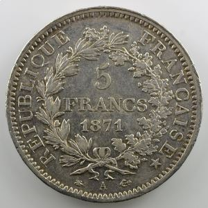 1871 A  (Paris)    TTB/TTB+