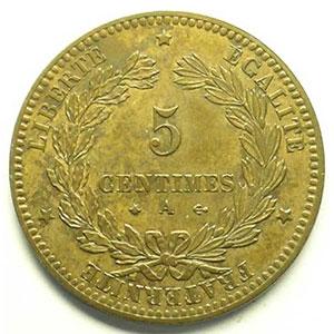 1872 A  (Paris)    SUP/FDC