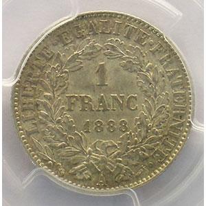 1888 A  (Paris)    PCGS-MS61    SUP/FDC