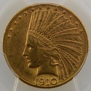 1910 D  (Denver)    PCGS-MS62    SUP/FDC