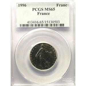 1996    PCGS-MS65    FDC