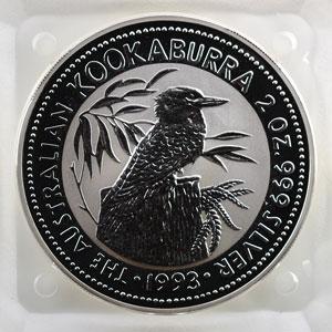 2 Dollars   Kookaburra   1993    FDC
