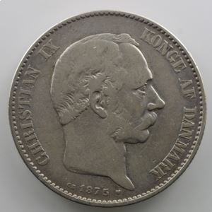 2 Kroner   1875    TB+
