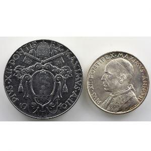 2 Lire, 5 Lire   1940    SUP/FDC