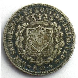 2 Lire   Charles-Félix (1821-1831)   1830 P aigle  (Turin/Torino)    TB/TB+
