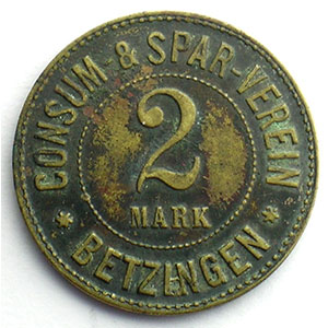 2 Mark   Lt, R  28,5mm    TTB