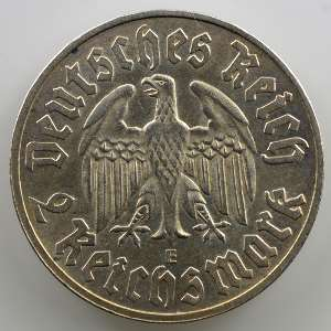 2 Reichsmark   1933 E   Martin Luther    SUP