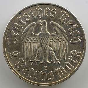 2 Reichsmark   1933 E   Martin Luther    SUP