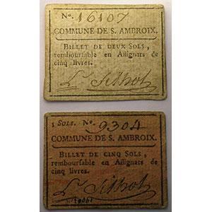2 Sols et 5 Sols   3 juillet 1791    TTB+