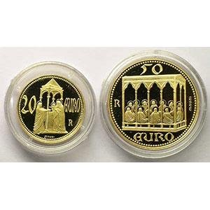 Münzen Euros Gold San Marino
