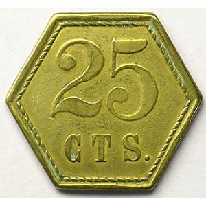 25 c   Lt, 6   21 mm   TTB