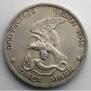 3 Mark   1913    SUP