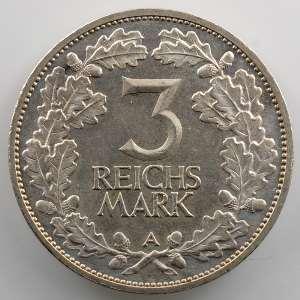 3 Reichsmark   1925 A   Rheinlande    SUP/FDC