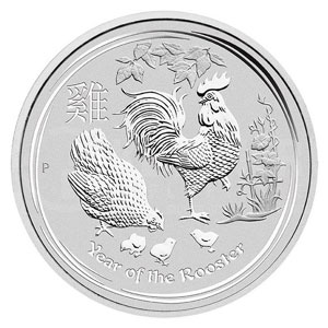 30 Dollars   Année du Coq / Year of the rooster   2017    BE