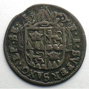 4 Kreuzer   François-Joseph Supersaxo (1701-1734)   1722    TTB
