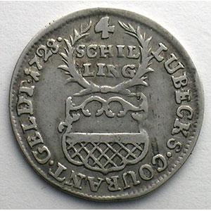 4 Schilling   1728    TTB