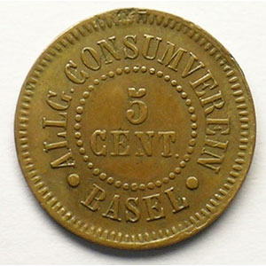 5 Cent   Cu, R,   17 mm   TB+