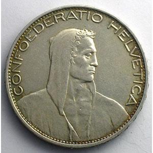5 Francs   1925 B    TTB+/SUP