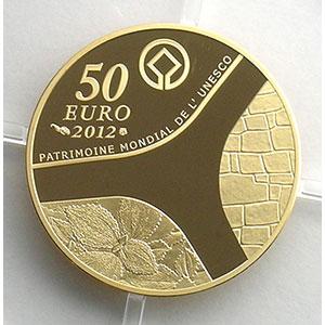 50 Euro   2012   Temple d'Abou-Simbel    BE