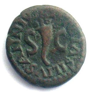 A/ LAMIA SILIVS ANNIVS SC   R/ III VIR A A A F F   (Rome 9 apJC)    TB+/TTB