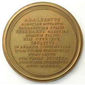 Adalbert   bronze   47,5 mm    SUP