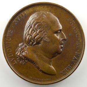 ANDRIEU/BARRE   Bronze   50mm   Erection de la statue de Turenne à Sedan   25 août 1823    SUP/FDC