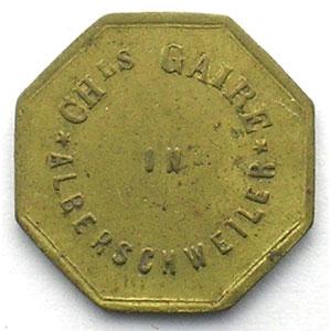 Münzen Notgeld Von Elsass Lothringen