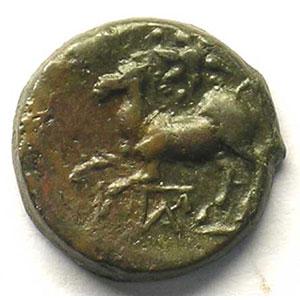 Bronze  17mm   (III° s. av.JC)    TTB+