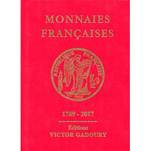 Numismatic foto  Bücher Münzen Frankreich 1793-1959 GADOURY   Monnaies Françaises   1789-2017
