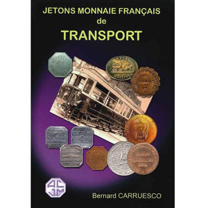 Carruesco Bernard   Jetons Monnaie français de transport