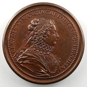 Charles III   bronze   47 mm    SUP