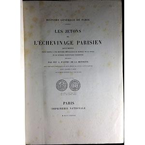D'AFFRY DE LA MONNOYE   Les Jetons de l'Echevinage Parisien