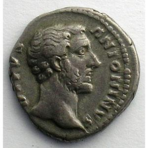 Denier frappé sous Marc-Aurèle et Lucius-Vérus   (Rome 162)    TTB