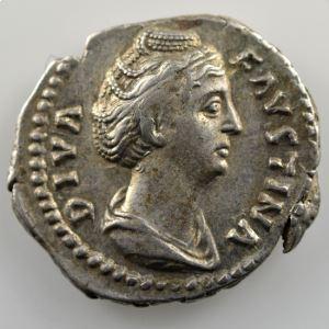 Denier  (Rome après 147)    TTB/TTB+