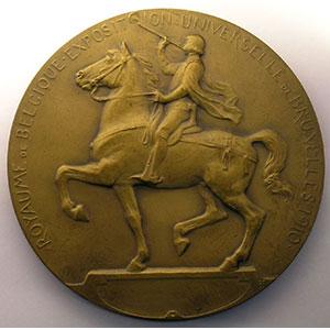 Devresse   Médaille en bronze   71mm    SUP/FDC