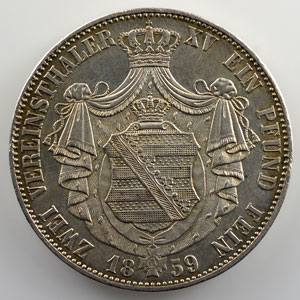 Doppeltaler   1859 F    SUP