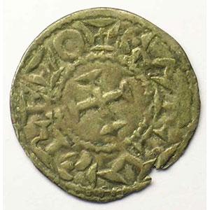 Dupl. 909   Denier  (XII° siècle)    TB+