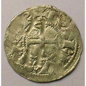 Dupl. 917   Denier  (XII° siècle)    TB+