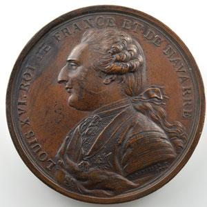 Duvivier   Voyage de La Pérouse et de Langle   1785   bronze  60mm    SUP