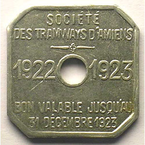 Elie 75.1   30 c   1922-1923   Al, 4c   21mm    TTB+/SUP