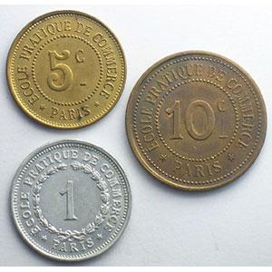 Elie E25.2, 3 et 5   5 c, 10 c, 1 F   Cu et Alu, R  23, 27 et 23,5mm    TTB+/SUP