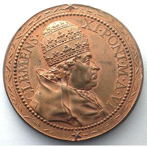 Ferdinand de Saint-Urbain   Médaille en bronze   40mm    FDC